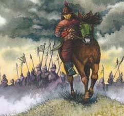 Djengis Khan III Forside